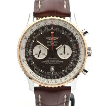 Breitling UB01281A/Q613 Gold/Steel 2016 Navitimer 01 (46 MM) 46mm pre-owned