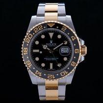 Rolex GMT-Master II 116713LN Good Gold/Steel 40mm Automatic
