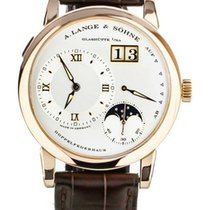 A. Lange & Söhne Lange 1 Rose gold 38.5mm Silver United States of America, Illinois, BUFFALO GROVE