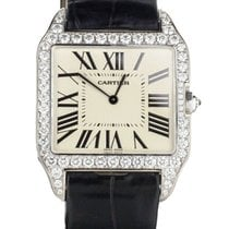 Cartier Santos Dumont White gold 44.2mm Silver United States of America, Illinois, BUFFALO GROVE