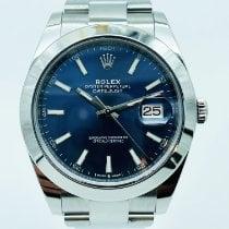 Rolex Datejust II Acier 41mm Bleu France, Paris