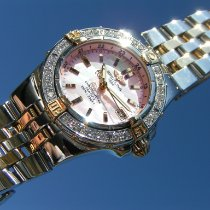 Breitling Starliner Gold/Steel 30mm Mother of pearl Roman numerals