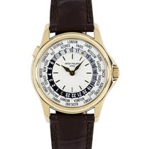 Patek Philippe 5110J-001 Yellow gold 2003 World Time 37mm pre-owned