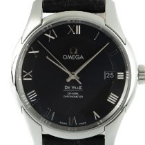 Omega De Ville Co-Axial Steel 41mm Black