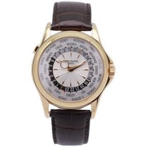 Patek Philippe World Time Yellow gold 39.5mm Silver