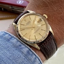 Rolex Oyster Perpetual Date Yellow gold 34mm Champagne United Kingdom, Norwich