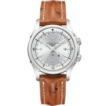 Hamilton Jazzmaster Traveler new 2020 Automatic Watch with original box and original papers H32625555