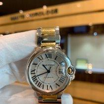 Cartier Ballon Bleu 36mm W6920047 Very good Gold/Steel 36mm Automatic
