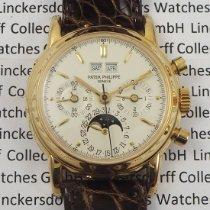Patek Philippe Perpetual Calendar Chronograph Gelbgold 36mm Silber Keine Ziffern Deutschland, Berlin