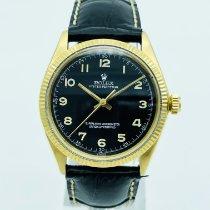 Rolex Oyster Perpetual 34 Or jaune 34mm Noir Arabes France, Paris