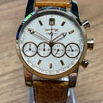 Eberhard & Co. Rose gold Automatic White No numerals 40mm pre-owned Chrono 4
