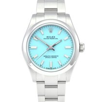 Rolex Oyster Perpetual 31 Steel 31mm Blue No numerals United Kingdom, Manchester