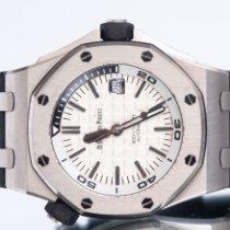 Audemars Piguet Royal Oak Offshore Diver Steel 42mm White No numerals United Kingdom, Newcastle Upon Tyne