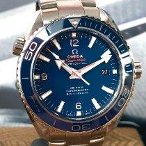 Omega Seamaster Planet Ocean Titanium Blue Arabic numerals