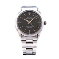 Rolex Oyster Perpetual 34 Staal 34mm Grijs