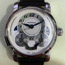 Montblanc 106487 Staal Nicolas Rieussec 43mm tweedehands