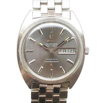 Omega Constellation pre-owned 35mm Grey Date
