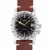 Glycine Steel 36.5mm Automatic Airman pre-owned United States of America, New York, New York