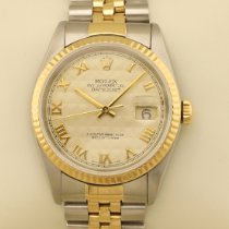 Rolex Datejust Ouro/Aço 36mm Champanhe