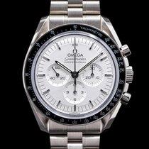 Omega Oro blanco Cuerda manual 42mm nuevo Speedmaster Professional Moonwatch
