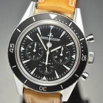 Jaeger-LeCoultre Deep Sea Chronograph pre-owned 42mm Black Chronograph Leather