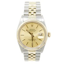 Rolex 16013 Gold/Steel 1983 Datejust 36mm pre-owned United States of America, California, Los Angeles