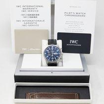 IWC Pilot Chronograph Steel 43mm Blue Arabic numerals United States of America, California, Los Angeles