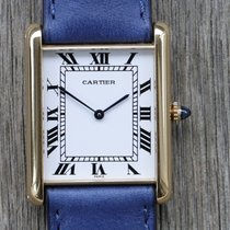 Cartier Tank (submodel) 17002 Very good Yellow gold 28mm Automatic Australia