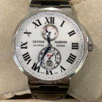 Ulysse Nardin Marine Chronometer 43mm Steel 43mm Black Roman numerals United States of America, Alabama, Miami