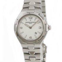 Vacheron Constantin (ヴァシュロン・コンスタンタン) 女性用腕時計 Overseas 34mm 自動巻き 中古 正規のボックスと正規の書類付属の時計