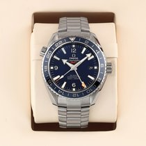 Omega Titanium Automatic Blue 43.5mm pre-owned Seamaster Planet Ocean