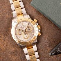 Rolex Daytona Gold/Steel 40mm Grey No numerals Australia