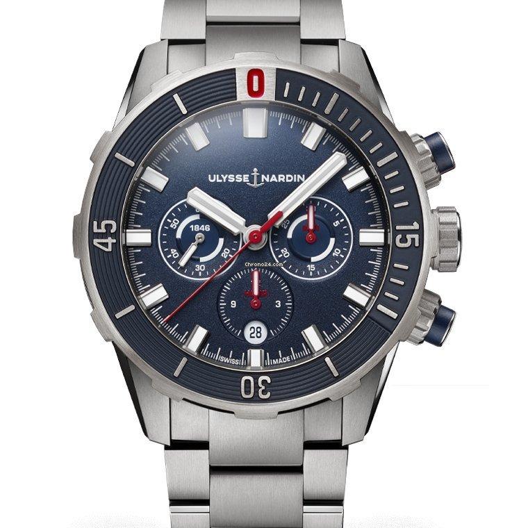 Ulysse Nardin Diver Chronograph 1503-170-7M/93 2021 new