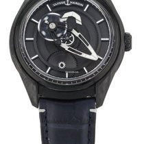 Ulysse Nardin Carbon Automatic Black 43mm new Freak