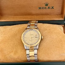 Rolex Datejust Turn-O-Graph Gold/Steel 36mm Champagne United Kingdom, Prinsted