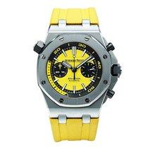 Audemars Piguet Royal Oak Offshore Diver Chronograph Acero 42mm Amarillo