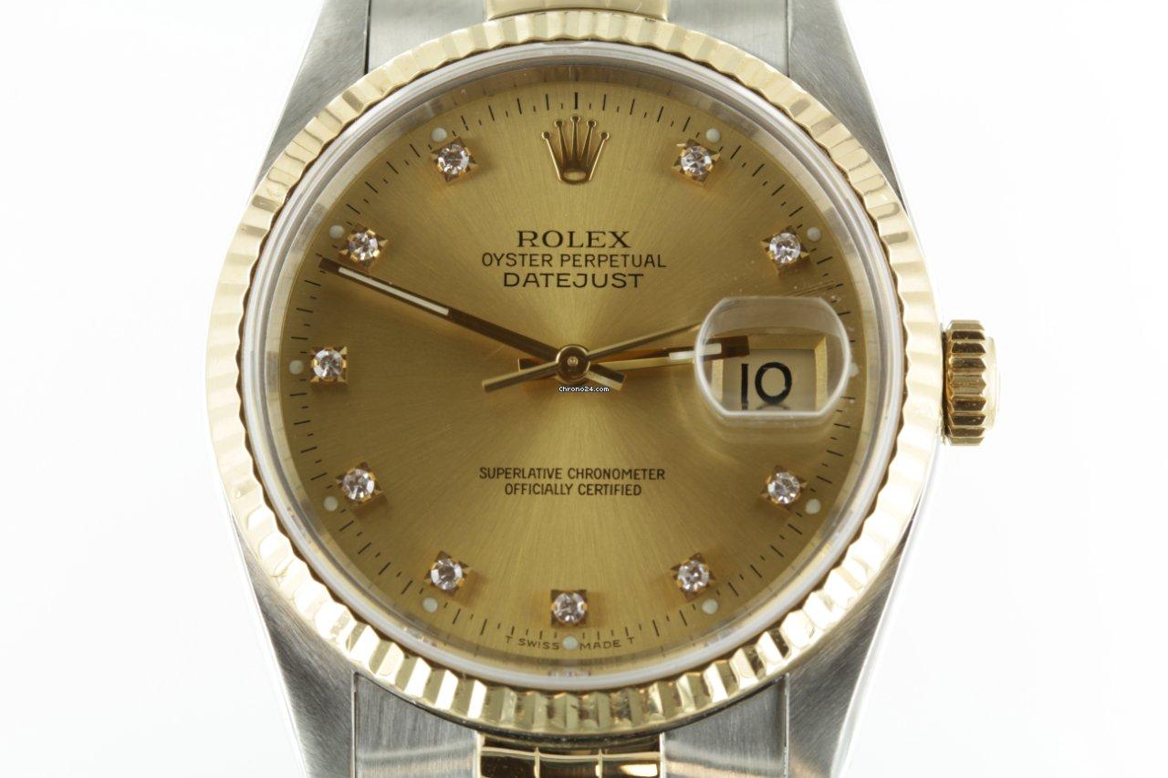 Rolex Datejust 16233 1990 gebraucht