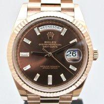 Rolex Day-Date 40 Oro rosa 40mm Marrone Romani Italia, Brescia
