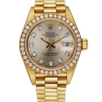 Rolex Lady-Datejust Yellow gold 26mm Silver United States of America, New York, New York