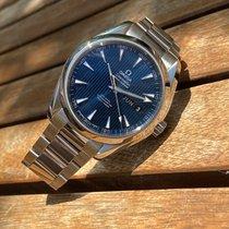 Omega Seamaster Aqua Terra Steel 43mm Blue No numerals United Kingdom, HAYES