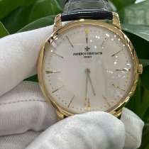 Vacheron Constantin Patrimony Yellow gold 40mm Silver No numerals
