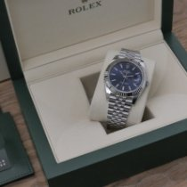 Rolex Datejust nouveau 2021 Remontage automatique Montre avec coffret d'origine et papiers d'origine 126334