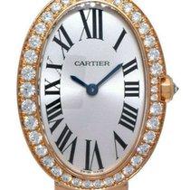 Cartier Baignoire Rose gold 31.6mm Silver Roman numerals United States of America, Florida, Boca Raton