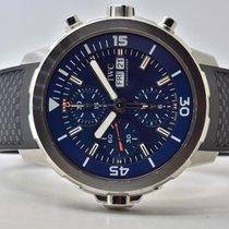 IWC Aquatimer Chronograph Stahl 44mm Blau Keine Ziffern Deutschland, Iffezheim