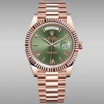 Rolex Day-Date 40 228235 Novo Ruzicasto zlato 40mm Automatika