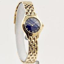 Cartier Cougar Желтое золото 26mm Синий Без цифр