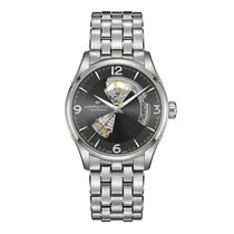 Hamilton Jazzmaster Open Heart new 2021 Automatic Watch with original box and original papers