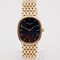 Patek Philippe 3978 Yellow gold Golden Ellipse 29mm pre-owned