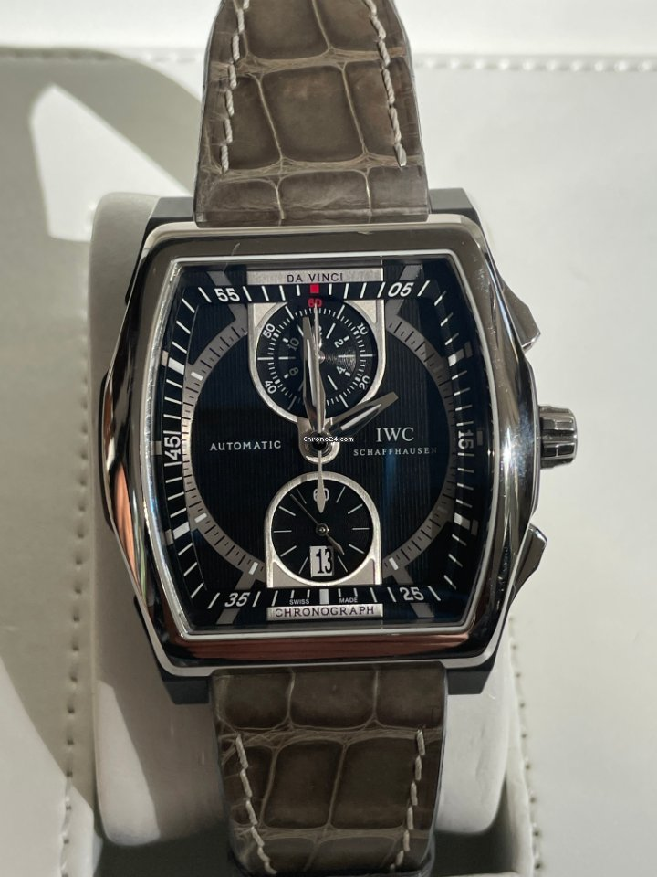 IWC Da Vinci Chronograph 376601 2012 подержанные
