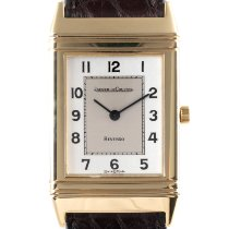 Jaeger-LeCoultre Reverso Classique Yellow gold 33mm Silver